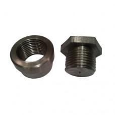 Lambda Sensor Boss and Plug - Mild Steel (M18 x 1.5)