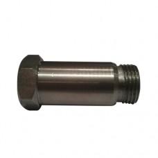 Lambda Sensor Extension Boss - Mild Steel (M18 x 1.5)