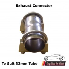 """1"""" 1/4 Exhaust Pipe Connector (31.75mm)"""