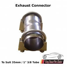 """1"""" 3/8 Exhaust Pipe Connector (34.925mm)"""