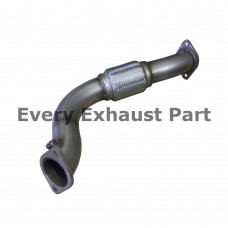 Ford Focus RS Mk 1 Interpipe - Stainless Steel Large Bore