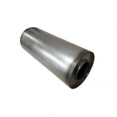 """3.5"""" Round Mild Steel Silencer"""