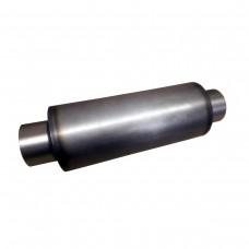 "3.5"" Round Mild Steel ERW Clamp-On Silencer"