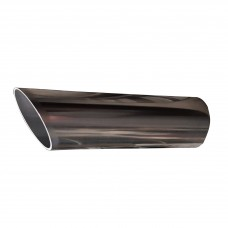 Slash Cut Exhaust Tail Trim - Stainless Steel T304