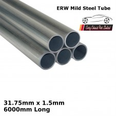 31.75mm x 1.5mm Mild Steel (ERW) Tube - 6000mm Long