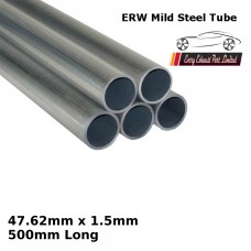 47.62mm x 1.5mm Mild Steel (ERW) Tube - 500mm Long