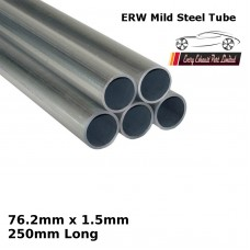 76.2mm x 1.5mm Mild Steel (ERW) Tube - 250mm Long