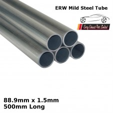88.9mm x 1.5mm Mild Steel (ERW) Tube - 500mm Long