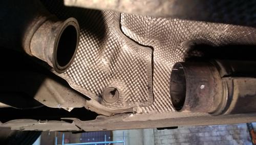 Bmw 520d E60 E61 Exhaust Flexi Repair Pipe For Cat